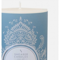 Vanilla and Coconut Pillar Candle by Shearer Candles