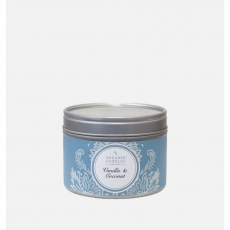 Vanilla and Coconut Small Candle Tin by Shearer Candles