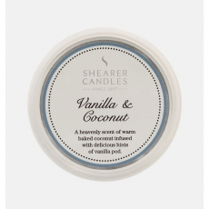 Vanilla and Coconut Wax Melt by Shearer Candles