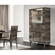 Medea 2 Door Display Cabinet by Status of Italy