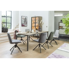 Shirley 190-250cm Extending Dining Table by Habufa