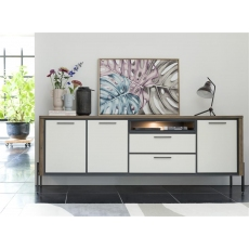 Shirley 240cm Sideboard (with LED Lighting) by Habufa