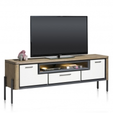 Shirley 170cm TV Lowboard (with LED Lighting) by Habufa