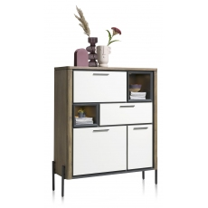 Shirley Highboard (with LED Lighting) by Habufa