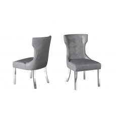 Alisa Dining Chair (Grey) by Torelli