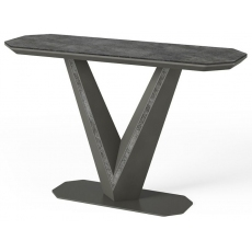Bellagio Ceramic Console Table by Torelli
