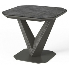 Bellagio Ceramic Side Table by Torelli
