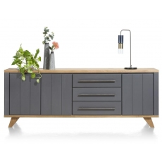 Jardin 230cm Sideboard (Anthracite) by Habufa