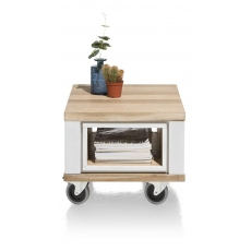 Jardin Side Table (White) by Habufa