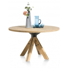 Jardino 130cm Round Dining Table by Habufa