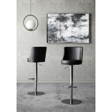 Bruno Bar Stool (Black) by Torelli