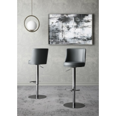 Bruno Bar Stool (Grey) by Torelli