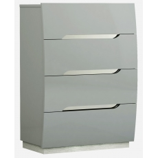 Lucy 4 Drawer Tall Chest