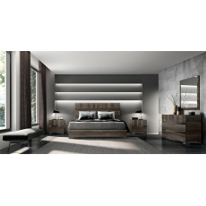Leah Super King Bedframe by Status of Italy