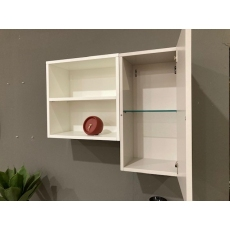 Manhattan Wall Unit with Doors by Calligaris (Clearance Item)