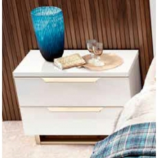 Smart Mini Bedside Chest (White) by CamelGroup