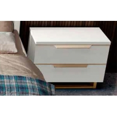 Smart Maxi Bedside Chest (White)