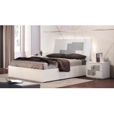 Kate 5ft Kingsize Storage Bedframe (Wood Finish) by Euro Designs