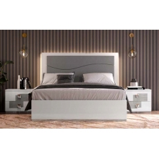 Kate 5ft Kingsize Storage Bedframe (Upholstered) by Euro Designs