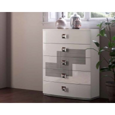 Kate 5 Drawer Tall Chest by Euro Designs