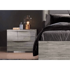 Diana 2 Drawer Bedside Chest by Euro Designs