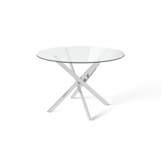 Clara 110cm Round Dining Table
