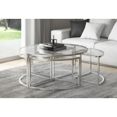 Omari Grande Coffee Table Set by Torelli