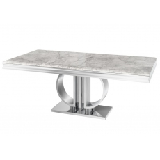 Donatello 200cm Marble Dining Table