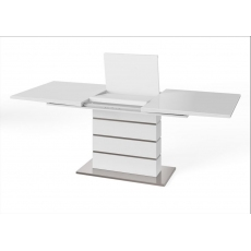 Massimo 160cm-220cm Extending Dining Table (White)