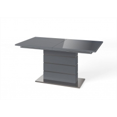 Massimo 160cm-220cm Extending Dining Table (Grey)