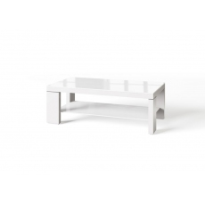Lucca White Coffee Table by Torelli