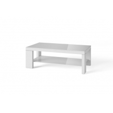 Lucca Light Grey Coffee Table by Torelli