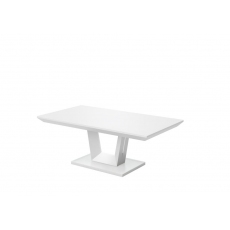 Vivaldi Matt White Coffee Table by Torelli