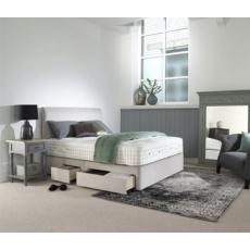 Elba 11,000 Mattress & True Edge Divan Set by Harrison Spinks