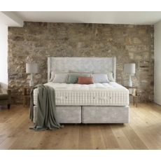 Santorini 27,000 Mattress & True Edge Divan Set by Harrison Spinks