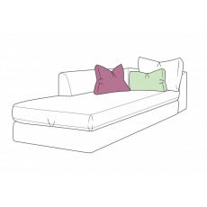 Bossanova 1 Arm LHF Chaise Unit by WhiteMeadow