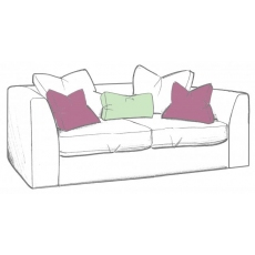Bossanova Small Sofa by WhiteMeadow