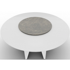 Icaro 80cm Lazy Susan (CS4113-FD-80) for 160cm Dining Table by Calligaris
