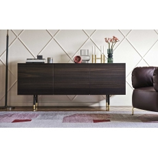 Horizon 180cm 3 Door Sideboard (CS6017-4B) by Calligaris