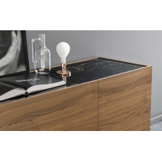 Horizon 210cm 4 Door Sideboard (CS6017-1B) by Calligaris