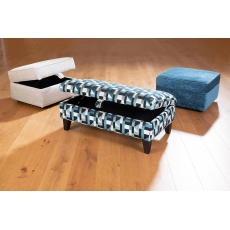 Evie Storage Stool by Alstons