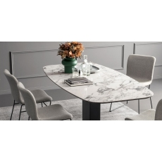 Echo 250cm Non-Extending Dining Table (CS4072-FB 250) by Calligaris