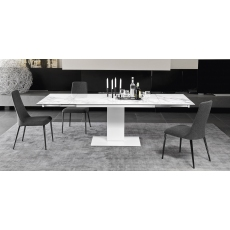 Echo 140-190cm or 240cm Extending Dining Table (CS4072-R 140) by Calligaris