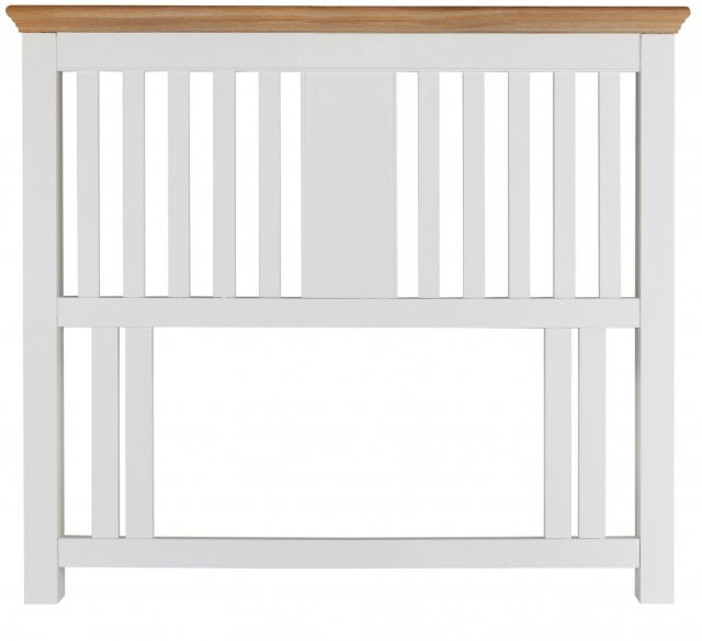 Hampstead Two Tone Slatted Headboard