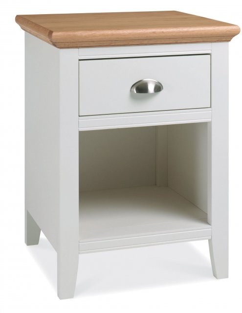 Hampstead Two Tone 1 Drawer Nightstand