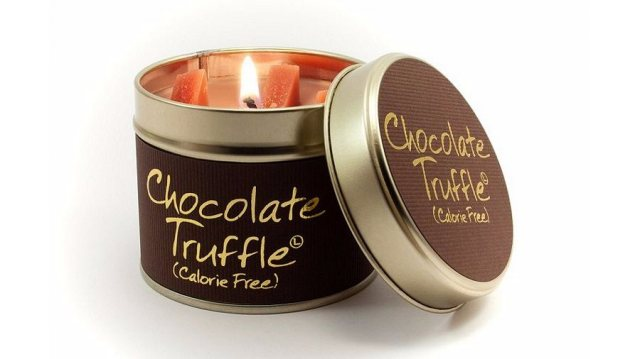 Choclated Scented Candle Tin