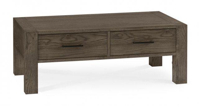 Turin Dark Oak Coffee Table With