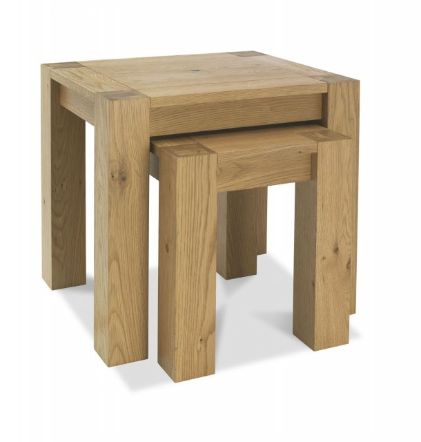 Turin light oak nest of lamp tables belgica furniture turin light oak nest of lamp tables aloadofball Image collections