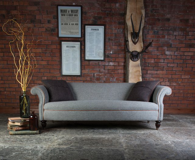Fabulous Bowmore Grand Sofa By Tetrad Harris Tweed Andrewgaddart Wooden Chair Designs For Living Room Andrewgaddartcom