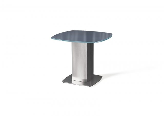 Olivia Lamp Table (Grey) by Argento